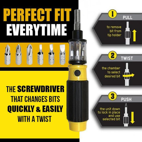 6-in-1 Ultimate Screwdriver