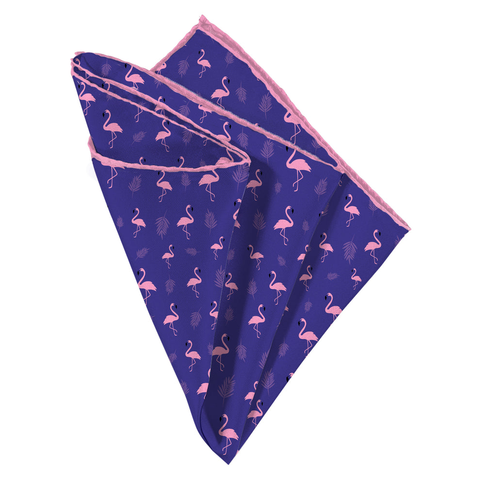 Funky Flamingo Pocket Square - Mr. Pocket Rocket