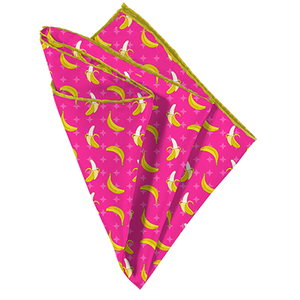 Go Bananas Pocket Square - Mr. Pocket Rocket
