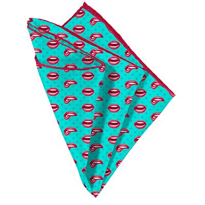 Bite Me Pocket Square - Mr. Pocket Rocket