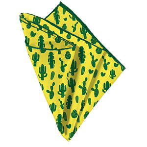 Your Cactus Pocket Square - Mr. Pocket Rocket