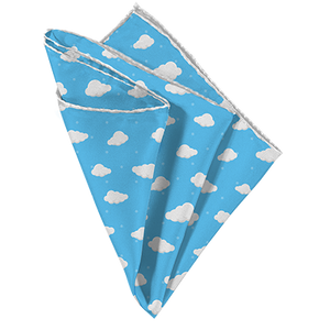 On Cloud Nine Pocket Square - Mr. Pocket Rocket