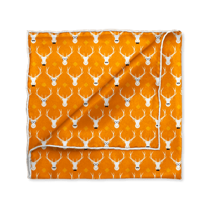Hipster Elk Pocket Square - Mr. Pocket Rocket