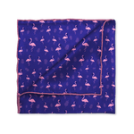 Funky Flamingo Pocket Square