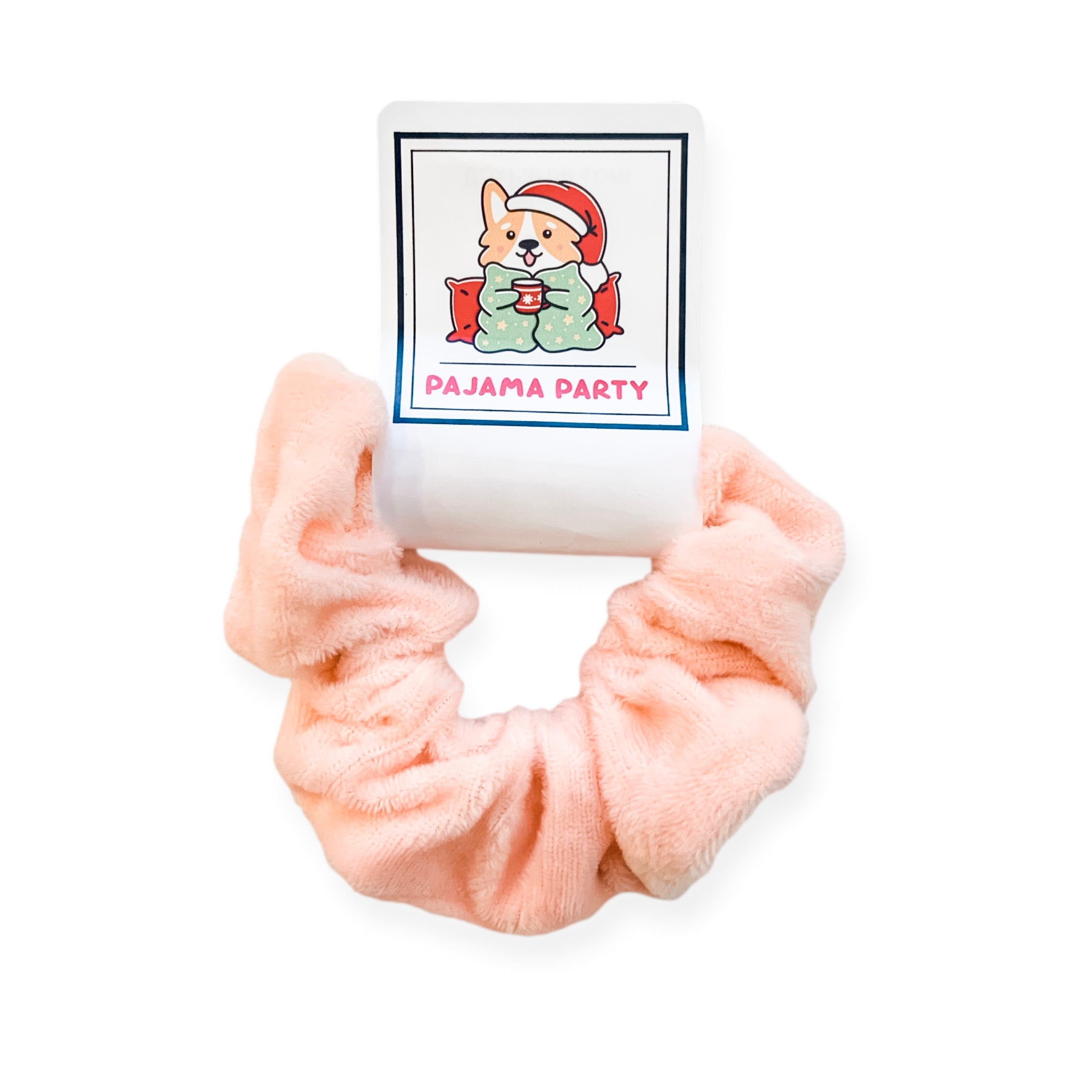 Pajama Party Hair Scrunchie
