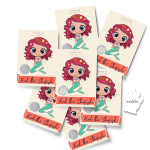 Mermaid Scratch & Win Box of 18