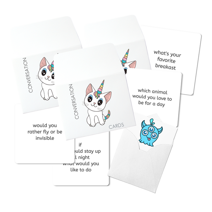 Conversation Cards (Caticorn)