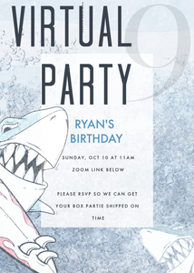Surf Invitation