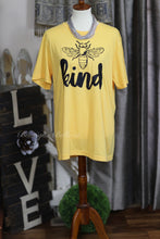 Bee Kind Graphic Tee in Yellow