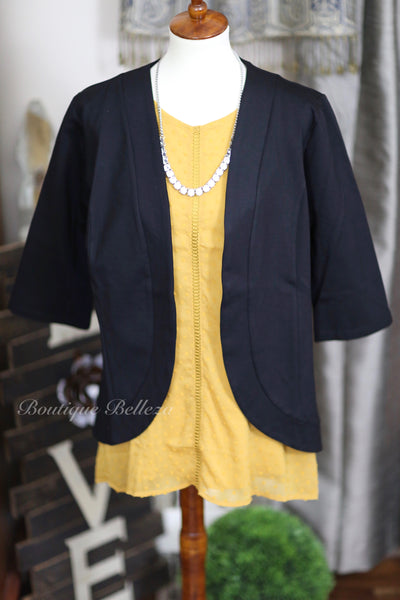 Swiss Dot Sleeveless Blouse, Mustard