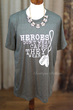 Real Heroes Graphic Tee