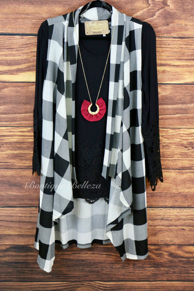 Long Burgundy Necklace