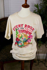 Every Rose Has Its Thorn Graphic Tee