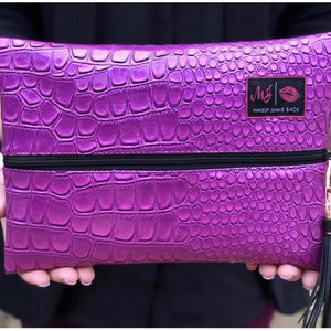Makeup Junkie Bags: Purple Kinda Pink