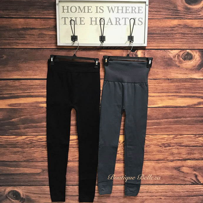 Fleece Lined Leggings *2 Colors: All Sizes