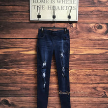 Distressed Premium 3XL Denim Jeggings
