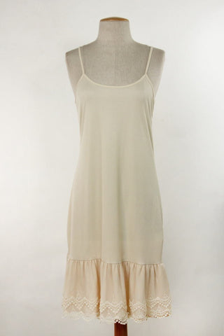 Dress Slip + Extender in Off-White