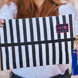 Makeup Junkie Bags: Glam Stripe