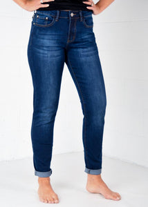 "The Perfect ""Mom"" Skinny Jeans"