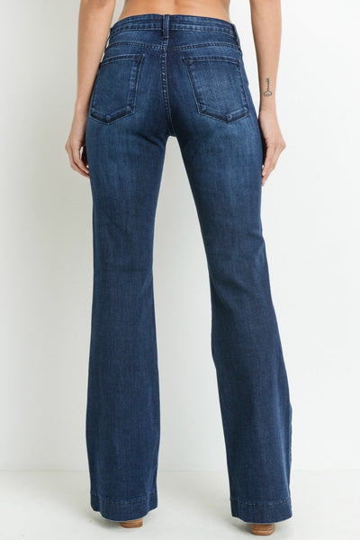 Just Black Tall Flare Jeans