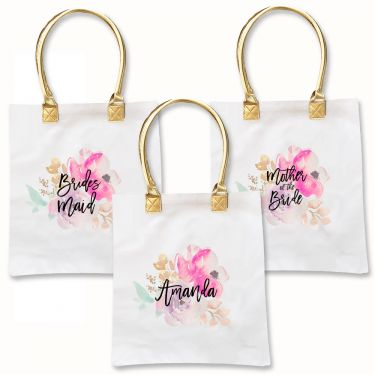 Water Color Tote Bags - Michelle James Designs
