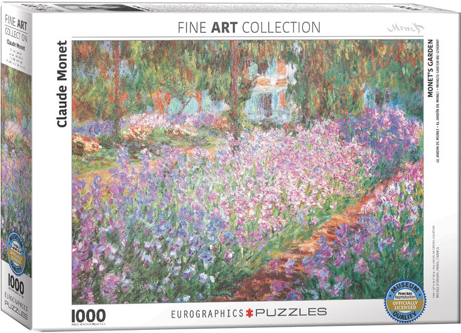 Monet's Garden by Claude Monet 1000-Piece Puzzle