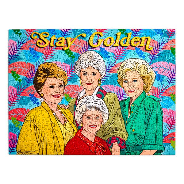 Stay Golden Puzzle 500 Piece Jigsaw Puzzle