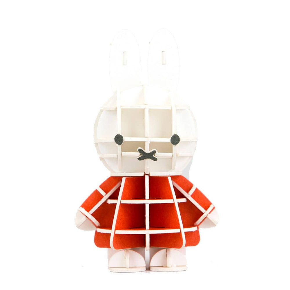 JIGZLE Standing Miffy Dick Bruna Collection -3D Paper Puzzle