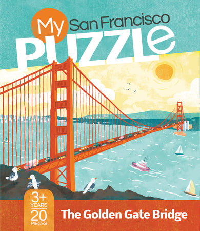 My San Francisco 20-Piece Puzzle, The Golden Gate Bridge