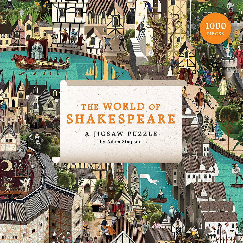 The World of Shakespeare: 1000 Piece Jigsaw Puzzle