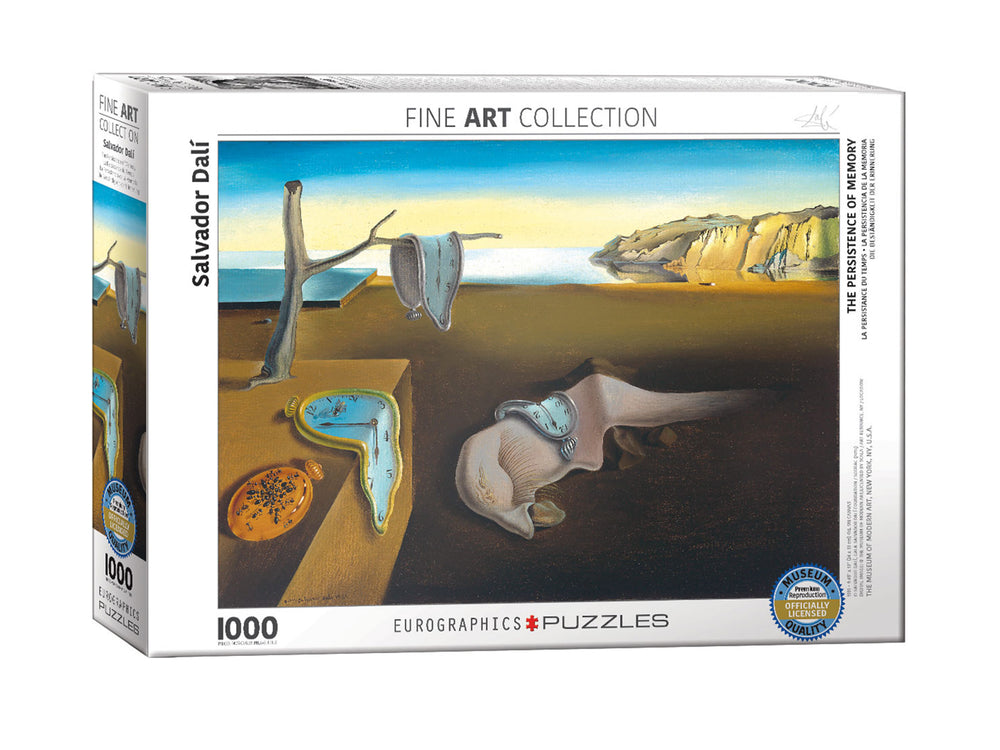 The Persistence of Memory by Salvador Dali 1000-Piece Puzzle