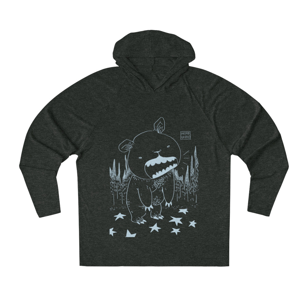 HENBUHAO Unisex Tri-Blend Hoodie