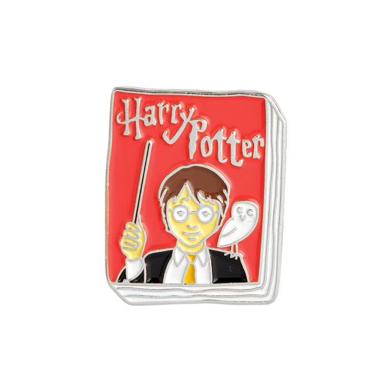 Harry Potter Book Pin