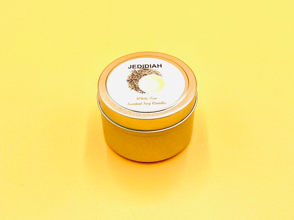 White Tea Soy Candle Tin