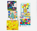 Puzzle 5 Pack- Christmas Carolers, Space Illuminated, Nature Anatomy, Lego Paint Party, Let Sun Shine In