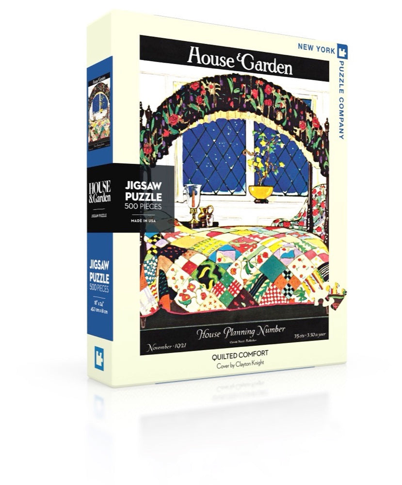 Quilted Comfort 500 Piece Jigsaw Puzzle