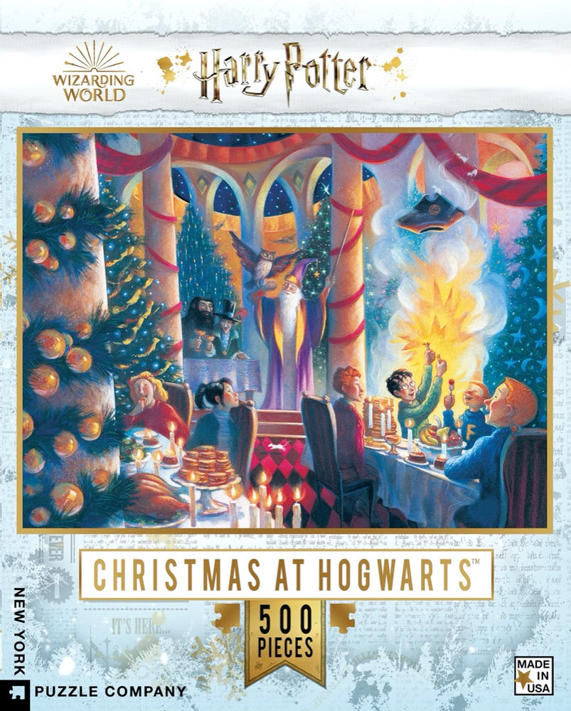 Christmas at Hogwarts 500 Piece