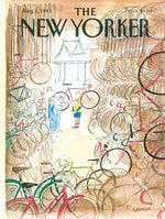 Bicycle Shop 1000 Piece Jigsaw Puzzle, New Yorker Puzzle