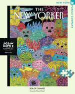Sea Changes 1000 Piece Jigsaw Puzzle, New Yorker Cover by Artist Edward Steed