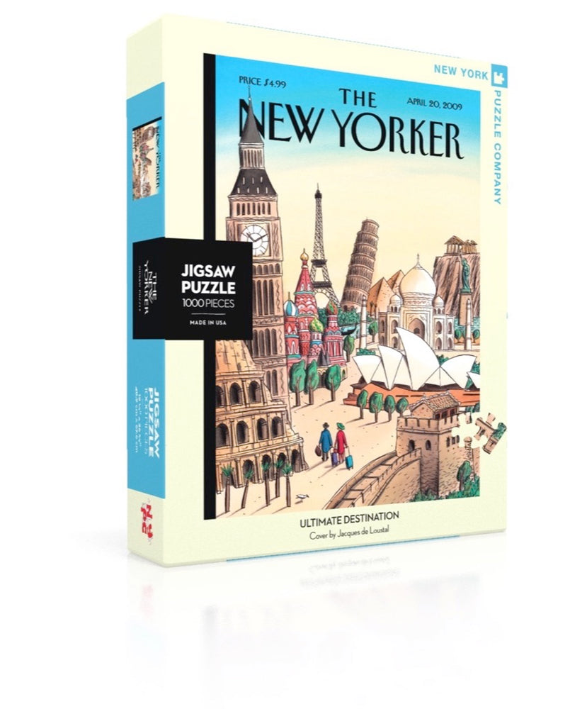 Ultimate Destination 1000 Piece Jigsaw Puzzle