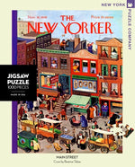 A busy day on Main Street 1000 Piece Jigsaw Puzzle