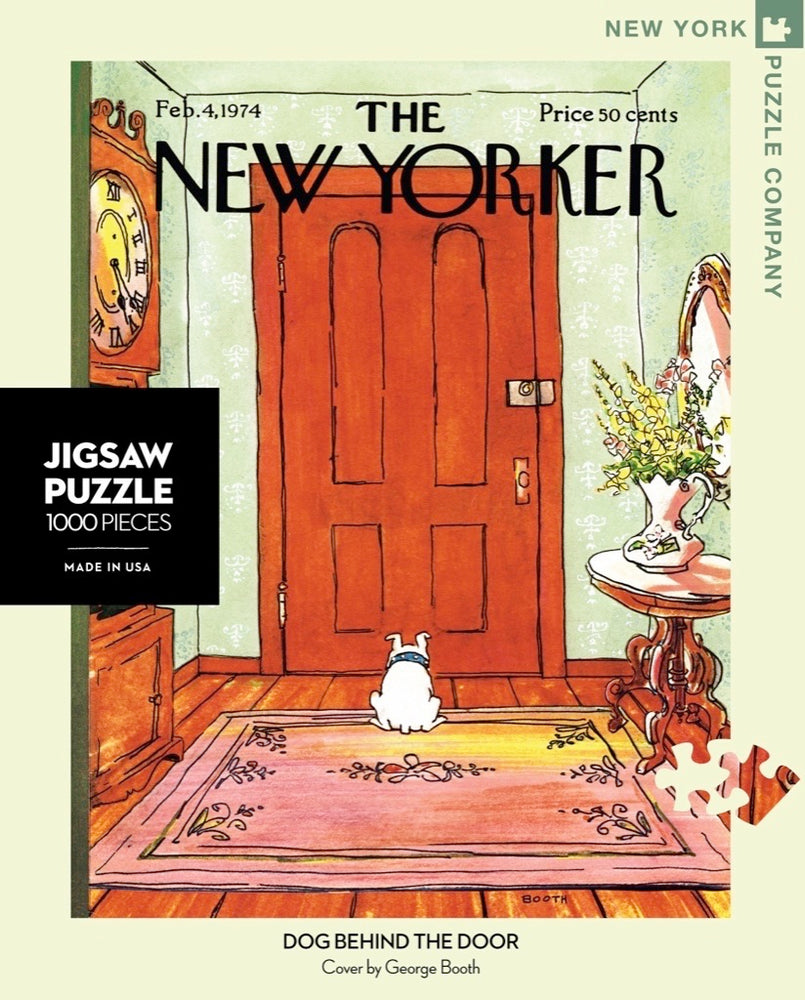Dog Behind the Door 1000 Piece Jigsaw Puzzle
