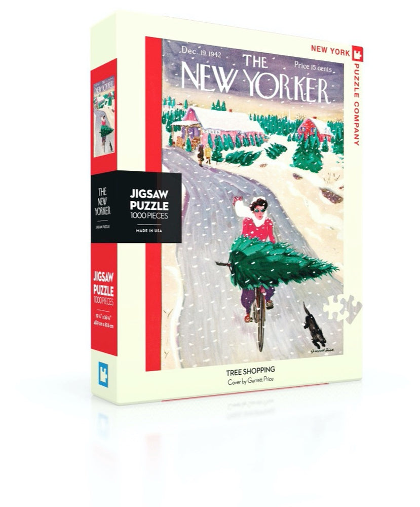 Tree Shopping 1000 Piece Jigsaw Puzzle, Christmas Puzzles