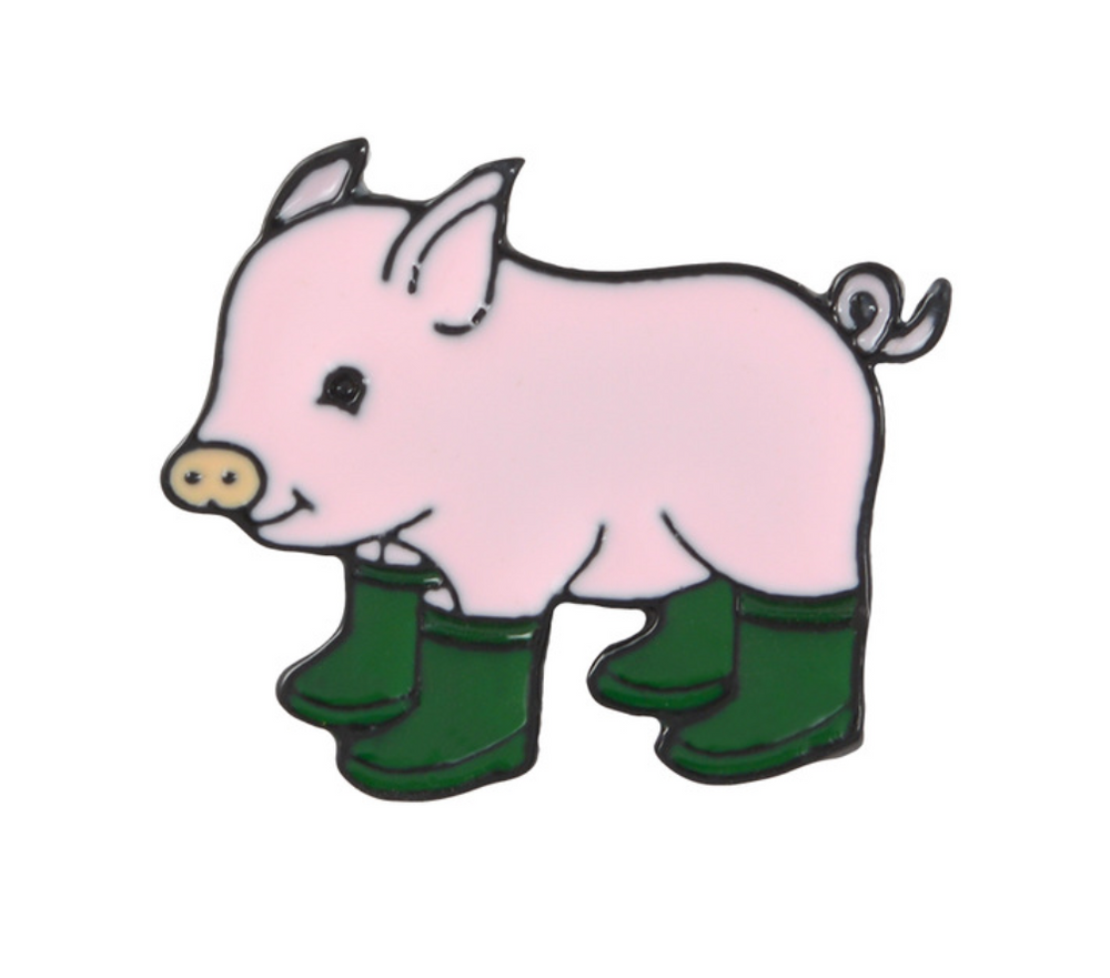 Fun Piggy with Boots
