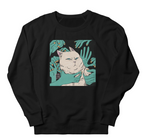 Unisex Black HENBUHAO Cat Sweatshirt