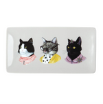 BERKLEY BESTIARY ANIMAL PORTRAIT LARGE PORCELAIN TRAY