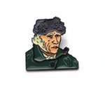 Van Gogh Self Portrait Pin