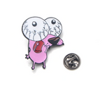 COURAGE The Cowardly Dog Enamel Pins