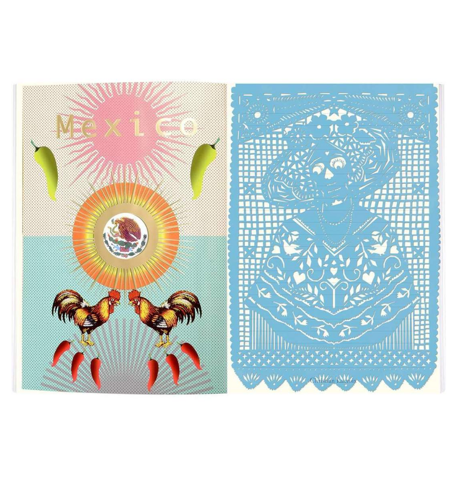 MEXICO CITY SOFTCOVER NOTEBOOK