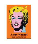 ANDY WARHOL MINI SHAPED PUZZLE BANANA, CAMPBELL'S SOUP, MARILYN